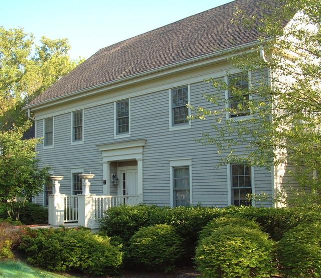 Greek Revival Farmhouse Traditional Exterior Other