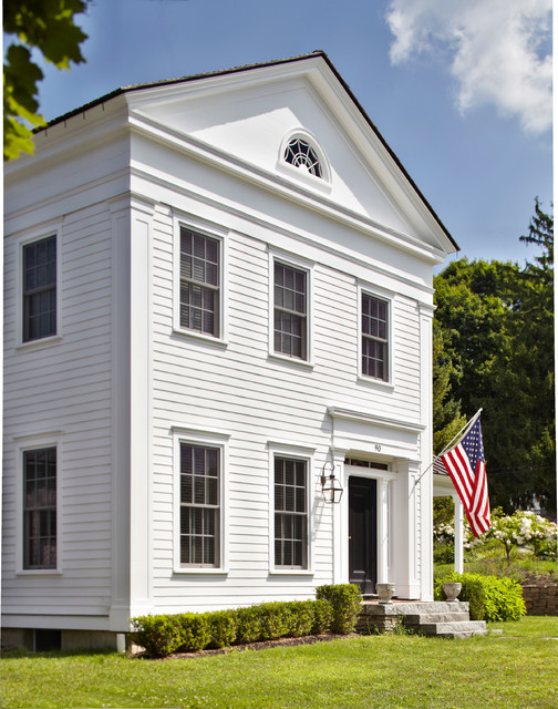 Greek Revival Home Traditional Exterior New York