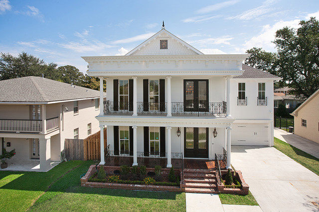 Greek Revival Revisited.... traditional-exterior