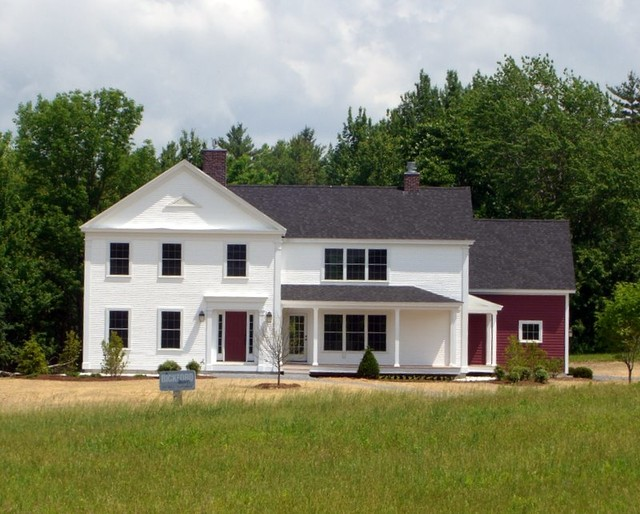 Greek Revival Farmhouse Prepossessing Greek Revival Vermont Farmhouse  Farmhouse  Exterior Review