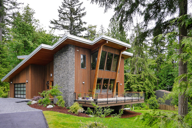 Green Built Modern contemporary-exterior