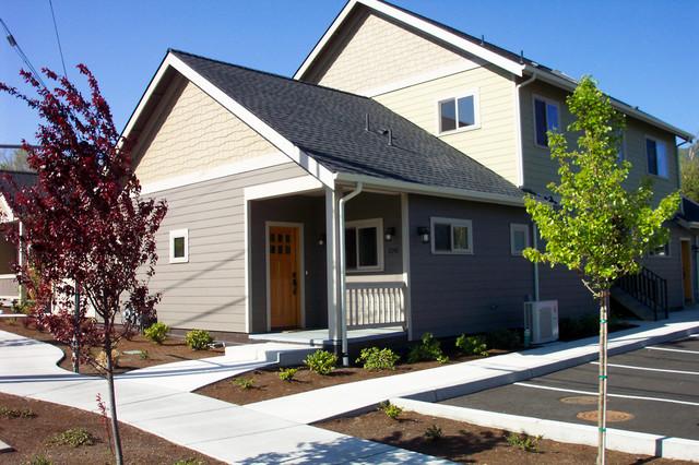 Green Condominium Cottages contemporary-exterior