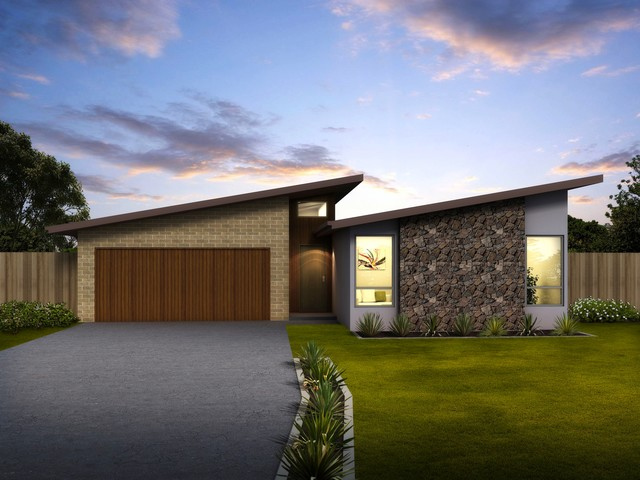Green Homes Australia Eclipse Range House Facades - Contemporary ...