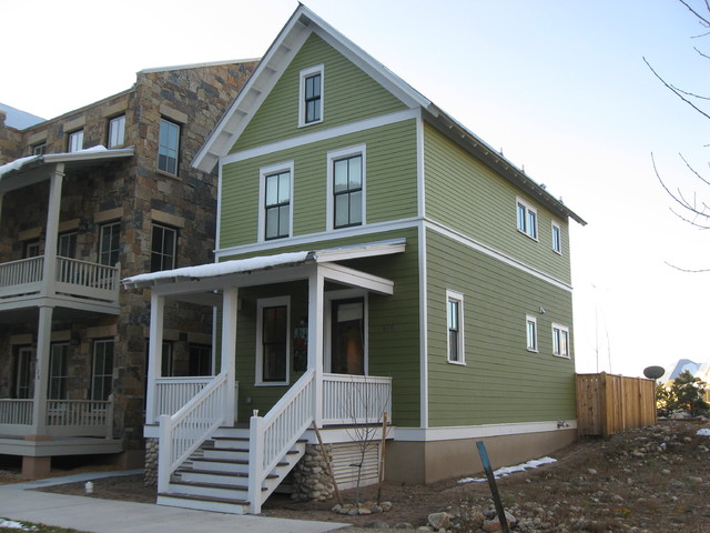 Green house 1152 south main colorado - Exterior house painting colorado springs decor ...