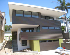 Green Idea House contemporary-exterior