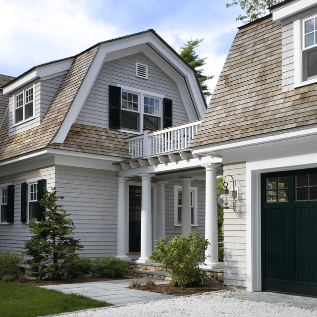 Green Tea - Victorian - Exterior - Boston - by SV Design on home depot garage designs plans, home with detached garage and shed, home plans detached with breezeway and carports, house with breezeway,