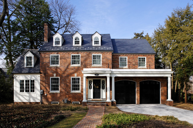 GREEN with Envy: LEED Certified Whole House Renovation traditional-exterior