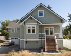 Greenlake Custom Home traditional exterior