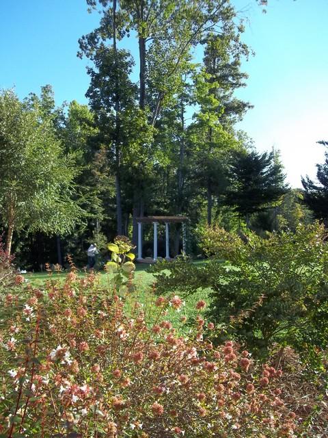Greensboro Winston Salem Dream Backyard traditional-exterior