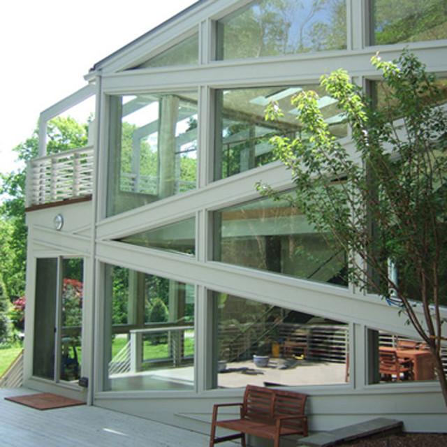 Greenwich Modern Home With Le Corbusier Villa Savoye