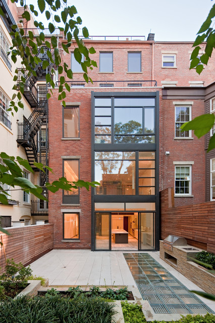 Greenwich village townhouse contemporary exterior Modern house architect new york