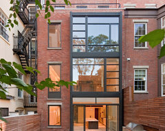 Greenwich Village Townhouse contemporary-exterior