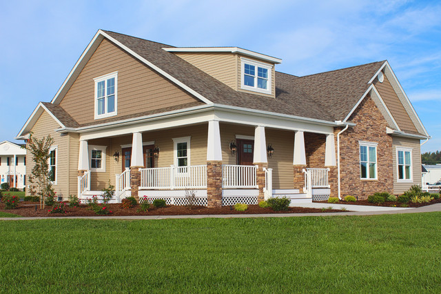 greenwood craftsman model exterior beracah homes