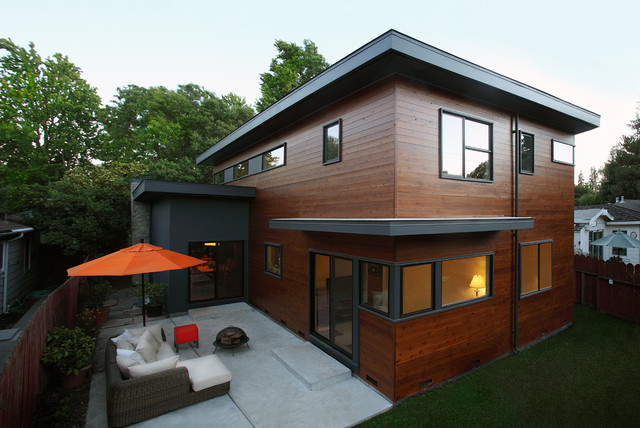 Greenwood Residence contemporary-exterior