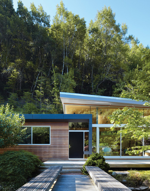 GRIFFIN ENRIGHT ARCHITECTS: Ross Residence midcentury-exterior