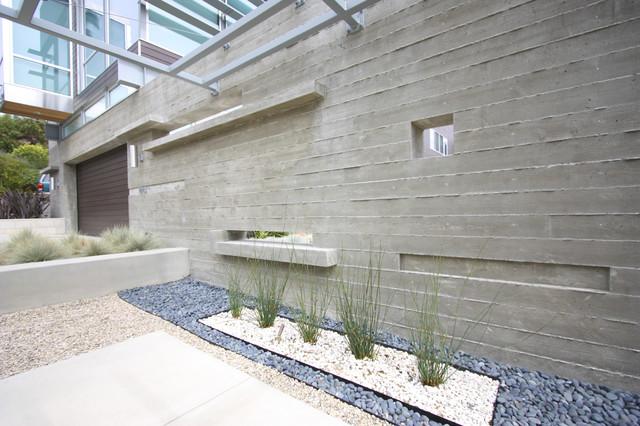 grounded modern landscape architecture modern exterior san. Black Bedroom Furniture Sets. Home Design Ideas