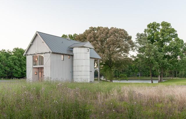 Guest Barn Farmhouse Exterior Baltimore By Kimmel