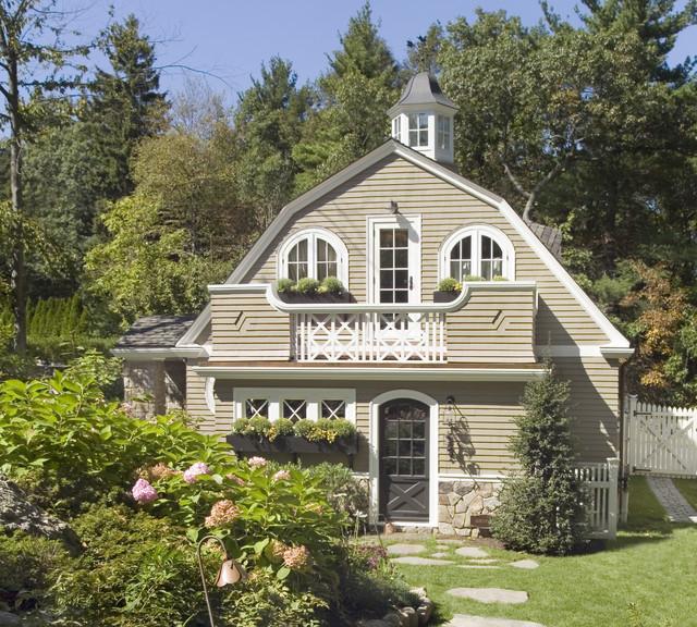 Guest Cottage Rustic Exterior