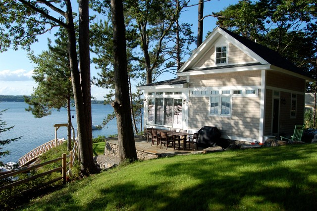 Guest House Traditional Exterior Portland Maine By