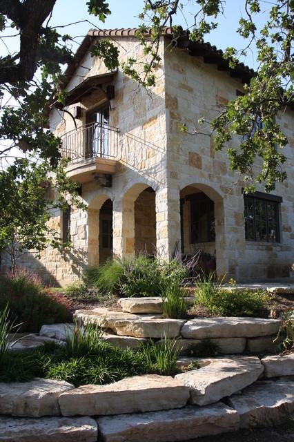 Guest House Mediterranean Exterior Austin By Rick