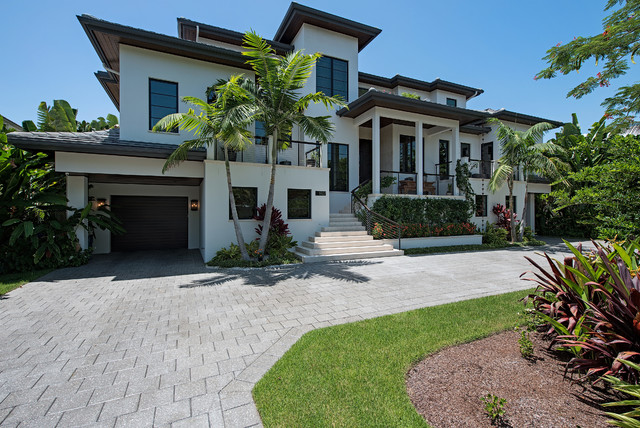 Gulf Chase Transitional Exterior Tampa By Don