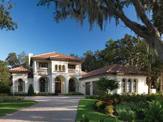 Gulfport 1093 mediterranean exterior tampa by for Luxury home models