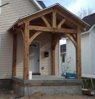Habitat for Humanity Porch 1 traditional-exterior