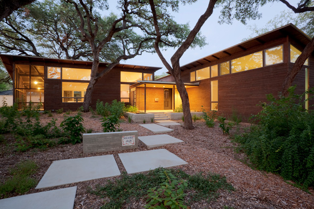 Hacienda Ja Ja Modern Exterior Austin by Lake Flato Architects
