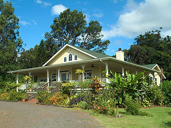 Haiku plantation style home for Home plans hawaii
