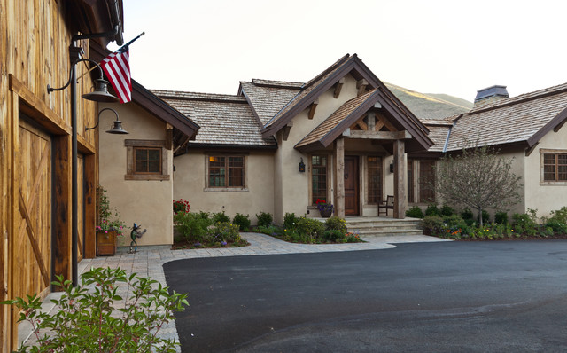 Hailey Residence rustic-exterior