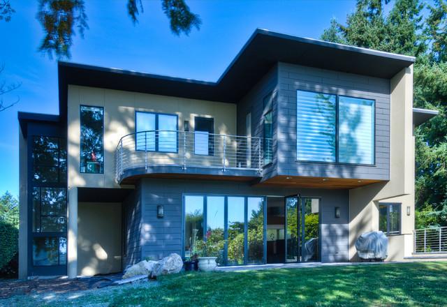 Haller Lake Residence contemporary-exterior
