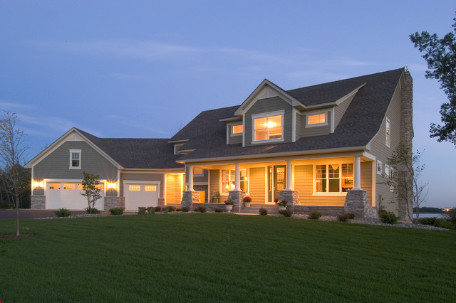 Ham Lake Traditional Exterior Minneapolis By