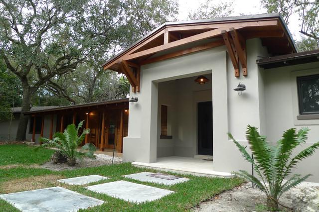 Hammock Residence contemporary-exterior