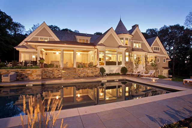Hampton's in the Country traditional-exterior