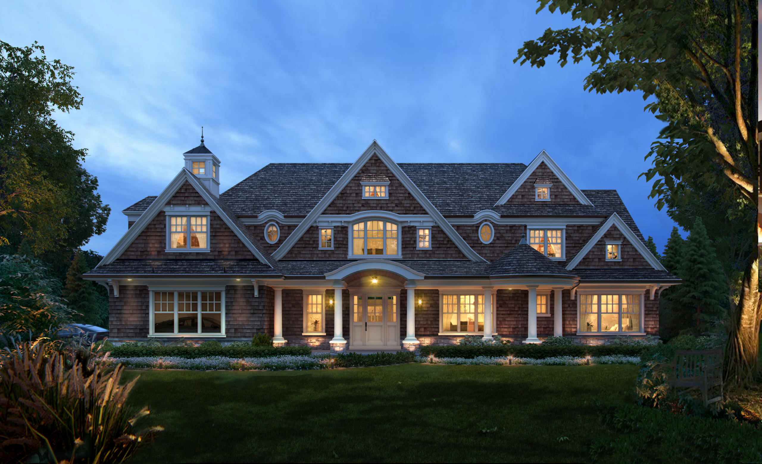 Hampton Style Home in Franklin Lakes