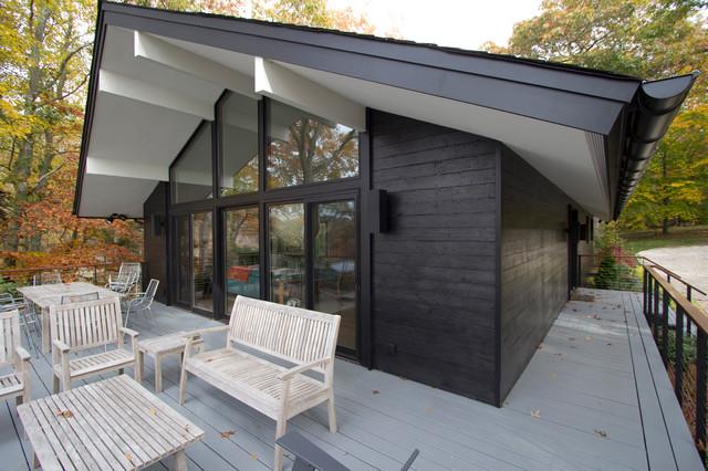 Hamptons House Shou Sugi Ban Modern Exterior New