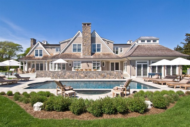 Hamptons shingle style home victorian exterior new for Houses for sale hamptons