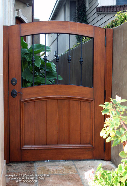 Garden Doors Outside Wooden