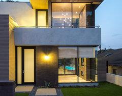 Hanson Residence contemporary-exterior