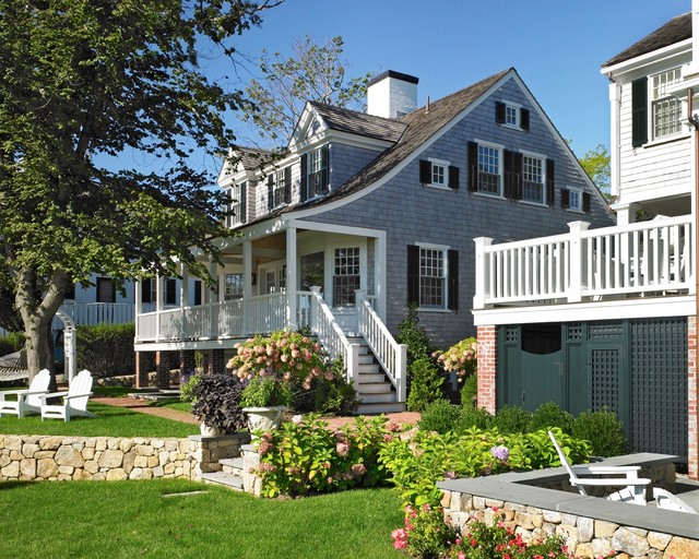 Harbor Restoration Beach Style Exterior Boston By