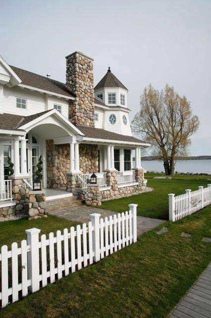 Harbor Springs Bay beach-style-exterior