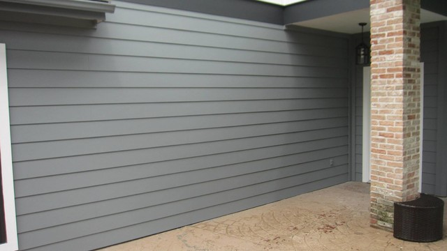 Lap Board Siding : Hardie quot board batten smooth finish lap siding