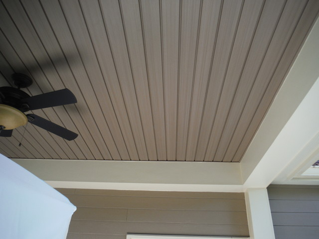 Hardie Khaki Brown Amp Custom Vinyl Soffit Porch Ceiling