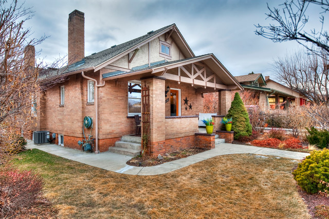 Harkness Heights Bungalow - Curb Appeal traditional-exterior