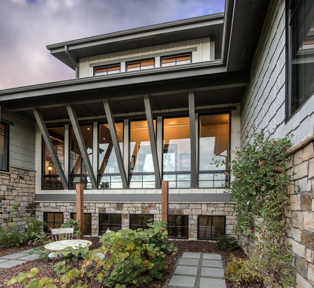 Harmony iv contemporary exterior denver by david for David hueter home designs