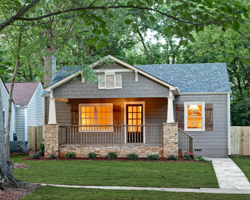 Craftsman Exterior by Willow Homes