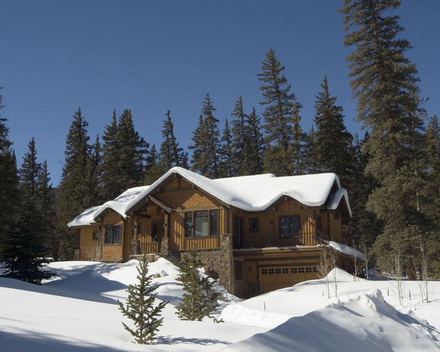 Hauck Cabin traditional-exterior