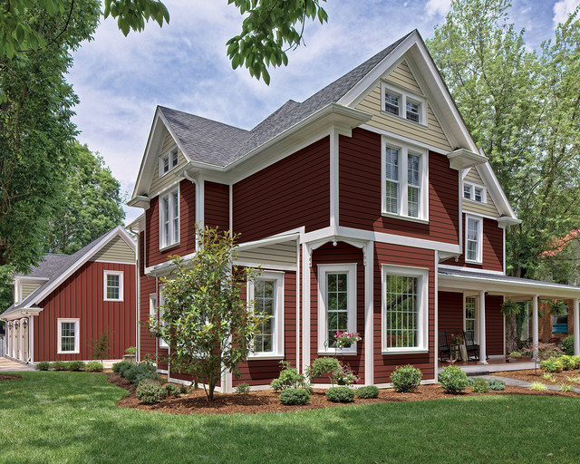 Haven 174 Insulated Siding In Redwood
