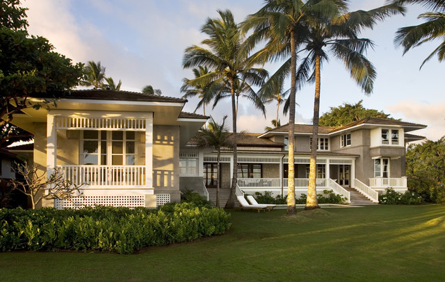 Hawaii residence kauai tropical exterior other for Hawaiian plantation architecture