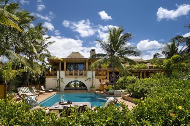 Hawaiian Vernacular tropical-exterior